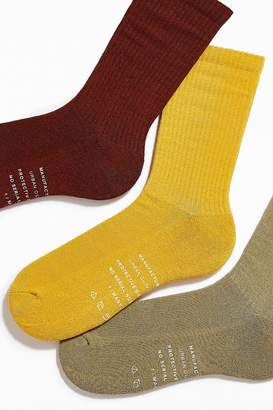 Urban Outfitters Overdyed Crew Sock 3-Pack