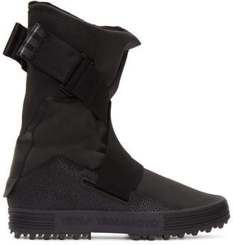 Y-3 Black Sno Foxing Boots