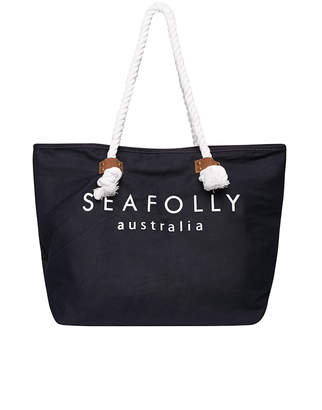 Seafolly Carried Away Ship Sail Tote