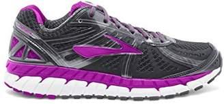Brooks Women's Ariel '16 D Running Shoe (BRK-120219 1D 3887680 8.5 059 ANTH/PURPLE/PRIM)