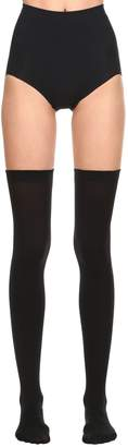 Wolford Fatal 80 Seamless Stay-Up Thigh Highs