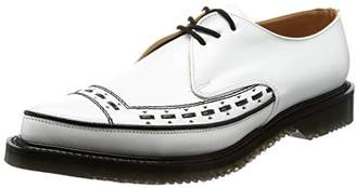 George Cox (ジョージ コックス) - [ジョージコックス] レースアップ M/G Gibson Leather 4563 White Leather UK 6(24.5 cm)