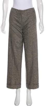 Hermes High-Rise Cashmere-Blend Pants