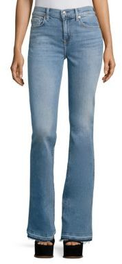 7 For All Mankind Ali Flare Jeans $199 thestylecure.com