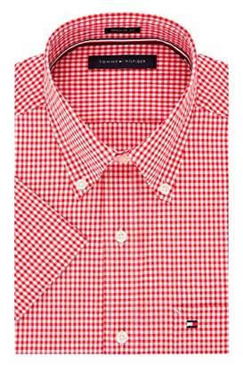 9b1f8b6eb490b Tommy Hilfiger Men s Shortsleeve Shirts - ShopStyle