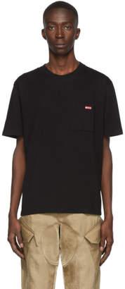 AFFIX Black Logo Pocket T-Shirt