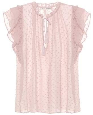 Ulla Johnson Reine cotton and silk top
