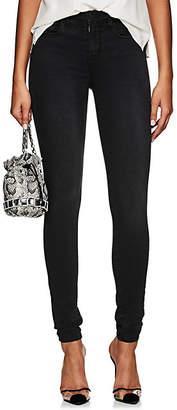 L'Agence Women's Marguerite Skinny Jeans - Dark Gray