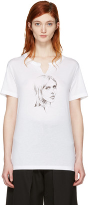 Off-White White 'Till Death' T-Shirt $295 thestylecure.com
