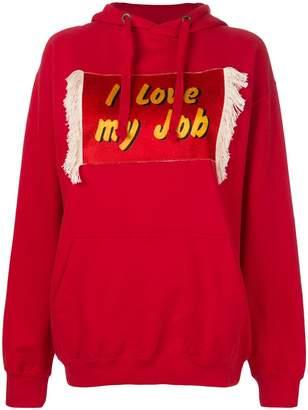 House of Holland I Love My Job hoodie