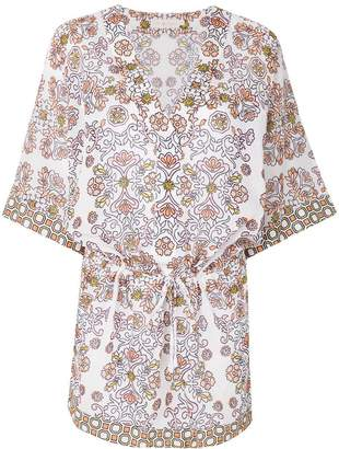 Tory Burch plunge neck tunic