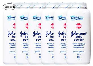 Johnson's Baby Johnson's Baby Powder White (200g) (Pack of 6)