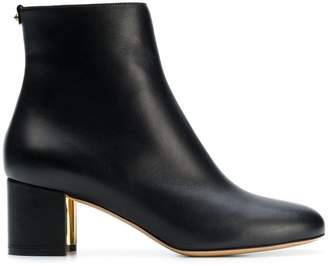 Salvatore Ferragamo block heel ankle boots
