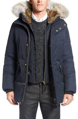 Mackage 'Edward' Down Parka with Genuine Coyote and Rabbit Fur Trim