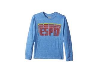 Original Retro Brand The Kids ESPN Long Sleeve Tri-Blend Tee (Big Kids)