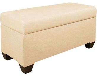 Skyline Furniture Twill Storage Bench, Multiple Colors