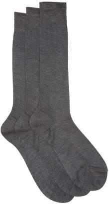 Raey Set of three silk socks