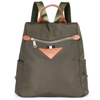 a6d884b5ba75 CLUCI Backpacks Purse for Women Canvas Fashion Travel Ladies Designer  Shoulder Bag
