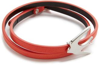 McQ - Alexander McQueen Swallow Mini Wrap Bracelet $65 thestylecure.com