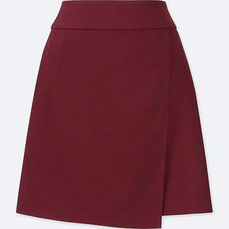 Uniqlo Women's Wrap High-waist Mini Skirt