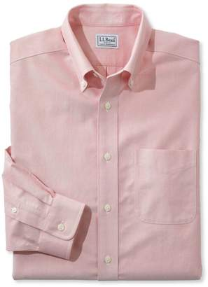 L.L. Bean L.L.Bean Wrinkle-Free Classic Oxford Cloth Shirt, Traditional Fit
