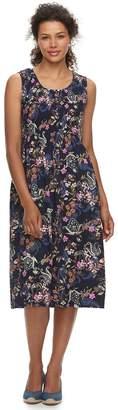 Croft & Barrow Women's Smocked Tank Dress
