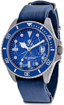 CHRISTIAN VAN SANT Christian Van Sant Mens Blue Strap Watch-Cv5203b