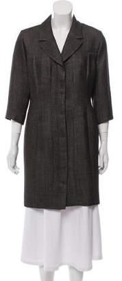 Chanel Wool-Blend Coat