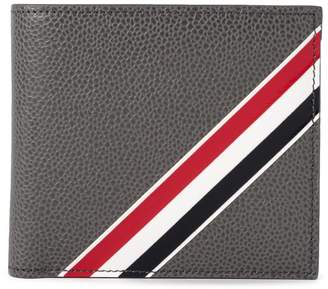 Thom Browne Tricolour Stripe leather billfold