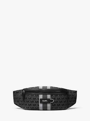Michael Kors Brooklyn Logo Jacquard Hip Bag