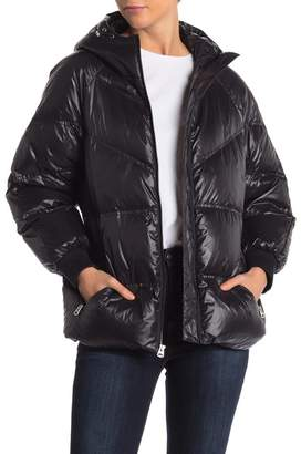 7 For All Mankind Belted Down Jacket