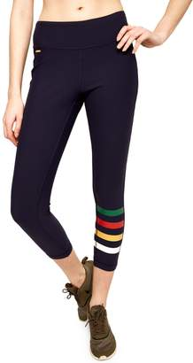 Lole Hbc Stripes HBC x Motion Crop Leggings