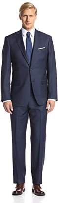 Franklin Tailored Men's Microcheck Tracy Suit