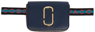 Marc Jacobs Blue Logo Strap Hip Shot Pouch