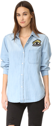 RAILS Cleopatra Button Down Shirt $168 thestylecure.com