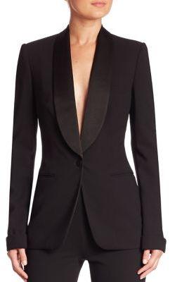 Ralph Lauren Collection Sawyer Wool & Silk Jacket $1,990 thestylecure.com
