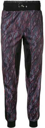 Plein Sport camouflage print track trousers
