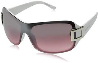 Southpole Women's 232sp-whpk Shield Sunglasses
