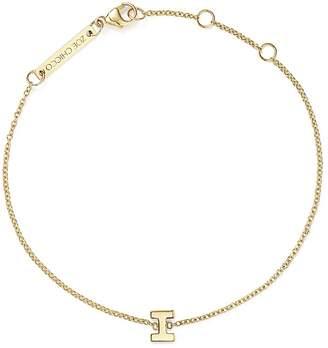 Chicco Zoë 14K Yellow Gold Initial Bracelet