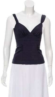 Louis Vuitton Sleeveless Bustier Style Top