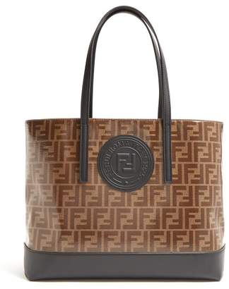 fe6a835c99 Fendi Ff Print Tote - Womens - Black Multi
