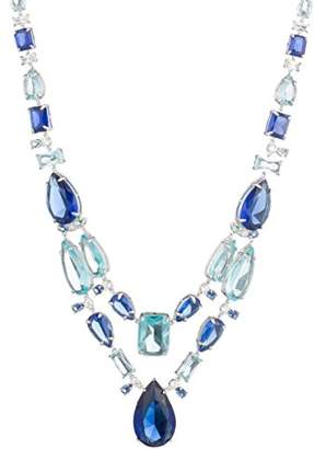 Carolee Women's Ocean Blues-Nk-16In Drama Bib Necklace