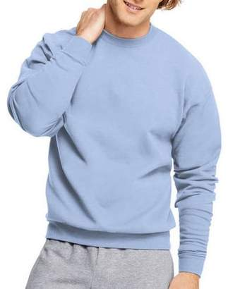 Hanes Big Men's Ecosmart Medium Weight Fleece Crew Neck Sweatshirt