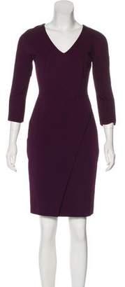 J. Mendel Knit Sheath Dress