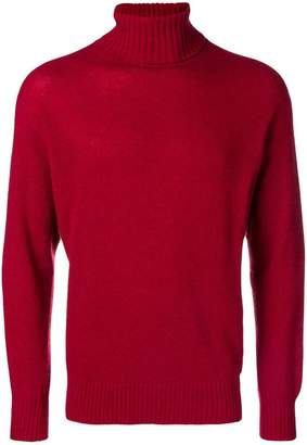 Maison Flaneur ribbed turtle neck jumper