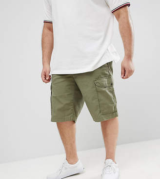 Tommy Hilfiger Big & Tall John Cargo Shorts Light Twill in Green