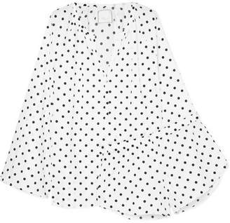Three J NYC Reese Polka-dot Cotton-poplin Pajama Set - White