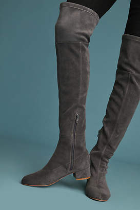 Anthropologie Suede Over-the-Knee Boots