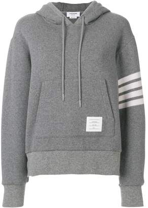 Thom Browne Double-faced Cashmere Pullover Hoodie