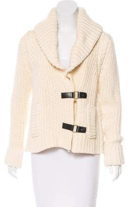 Tracy Reese Knit Long Sleeve Cardigan